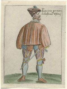Solennis Habitus Optimalicum in Germania inferiori, 1590 - 1595