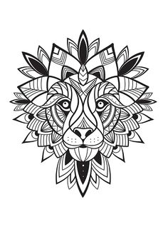 coloriage-Lion-72dpi