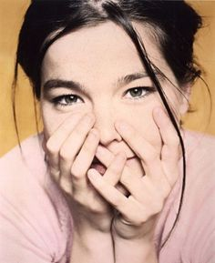Björk . I love her since the first time i saw her video on MtV. at the time i just a kid who follow her sister interest in 1990 :)
