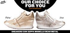 Scopri il modello #Dean di #Ash! Sneaker con zeppa #sporty e #frizzante! #ashitalia