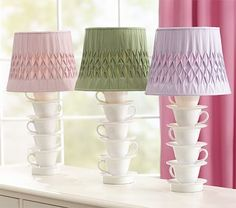 Teacup Tower Lamp is