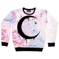 Pastel Moon Sweatshirt from Kill Star