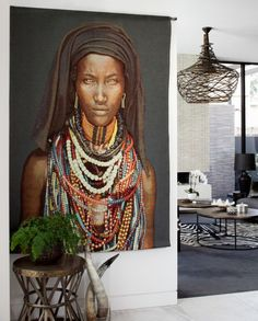 African interior inspiration - Architecture and Home Decor - Bedroom - Bathroom - Kitchen And Living Room Interior Design Decorating Ideas - African Interior Design, African Design, Decor Interior Design, Interior Decorating, Decorating Ideas, Room Interior, Ethno Design, Ethno Style, African Home Decor