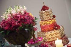 bolo decorado para festa árabe