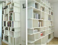 Solar State of Mind: Moja ściana książek - My wall of books