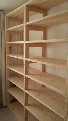 ideas for brilliant and recommended garage organizations 52 - . - ideas for brilliant and recommended garage organizations 52 – - Basement Shelving, Garage Shelf, Wall Shelving, Garage Shelving Plans, Garage Closet, Closet Shelving, Garage Cabinets, Shelving Ideas, Wood Shelves