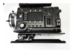 Sony PMW-F55 arrives at Shoot Blue - with Element Technica 15mm Micron baseplate