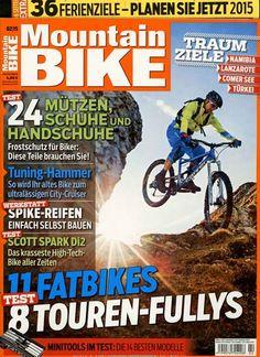 11 Fatbikes - 8 Touren-Fullys. Gefunden in: Mountain BIKE, Nr. 2/2015