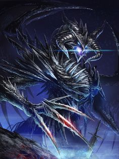 Dark Fantasy Art Dragons | Dark Dragon by Ze-l on deviantART