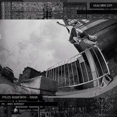Myles Rushforth - krook - Pic by Greg Somerset - Skateboarding