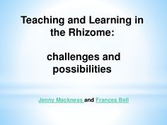 Presentation for Liverpool John Moores University Teaching and Learning…