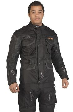 RS Atlas Heated Blaze Jacket Black with Extra Strong Wear Resistant Carbon Wire Technology. Introductory Price for 2013 is £179.99. Complete details at their website.