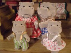 Forest families. I think i had a set of bears and maybe bunnies