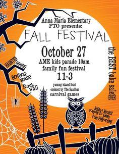 Family Fall Festival Flyer Fall