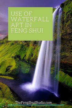 Waterfalls are a powerful symbol of the Water Element in Feng Shui. They call in vital Ch'i energy and a photo or painting of a waterfall can be a potent Feng Shui Energy Boost. Feng Shui Basics, Feng Shui Principles, Feng Shui Tips, Feng Shui Energy, Feng Shui Wealth, Feng Shui Design, Feng Shui Art, Feng Shui Waterfall, Feng Shui Studio