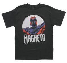Great Magnitude T-Shirt Front #magneto #xmen #wolverine