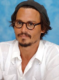 Johnny Depp in glasses! #goodlooks - Lookmatic's trendy, fully-customizable and sensibly priced eyewear lets you look your best and inspires you to do more good. Now that's #LookmaticGOOD