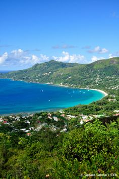 The Seychelles Islands - Bay Of Beau Vallon