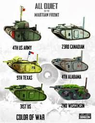 all quiet on the martian front North American tanks