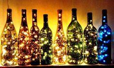 LEDと瓶で素敵なライトを作ろう!
