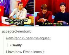 Josh and drake Ft Tumblr, Tumblr Funny, Funny Memes, Bad Memes, Funny Cute, Really Funny, Lol, Drake And Josh, Nickelodeon