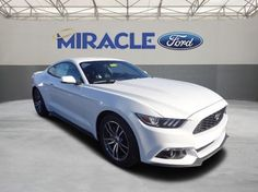 2016 FORD MUSTANG ECOBOOST® PREMIUM RWD