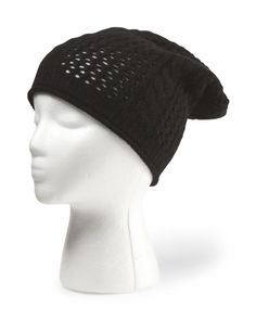 Women's Cashmere Honey Comb Stitch Hat