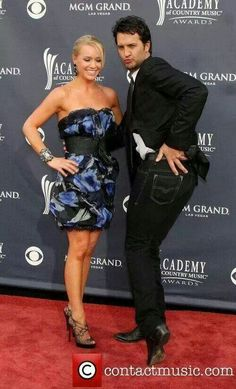Luke Bryan and his gorgeous wife, Caroline. Such a stunning couple!