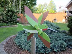 Humming Bird Whirligig 1 by dhenterpris on Etsy, $23.00