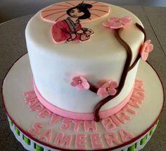 Mulan cake from Aissa's sweet shop