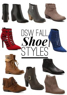 One Pair of Booties, Three Ways by Twinspiration: http://twinspiration.co/dsw_shoes/