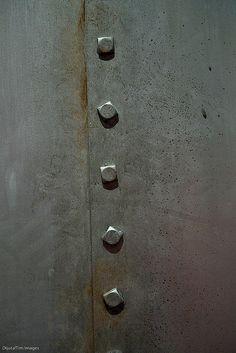 steel walls w rivets Bike Cog, Masculine Room, Metal Wall Panel, Gun Storage, Steel Panels, Metal Texture, Industrial Bathroom, Steel Wall, Metal Mesh
