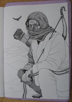 DESERT HAWK Prelim sketch