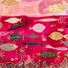 Sarajo Frieden -- could totally make a quilt inspired by this. :)
