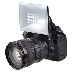 @Overstock - This is a camera flash diffuser for Canon, Nikon and Pentax. Create a softer touch for your photos with this diffuser. $7.99