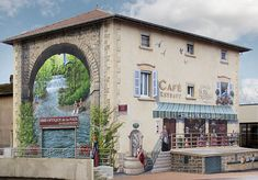 Coffee Aqueduct by Patrick Commecy & A.Fresco (Estrablin, France)