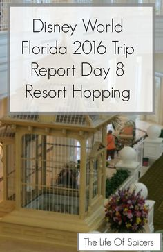 Disney World 2016 Diary - Resort Hopping Day 8 - The Life Of Spicers