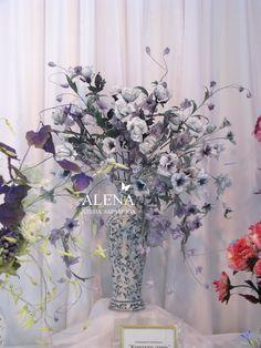 Fabric flowers Alena Abramova