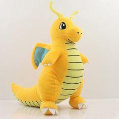 New Pokemon Dragonite Soft Plush Toy Stuffed Doll Figure ...