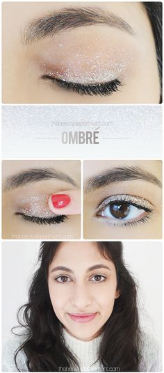 Get creative with your glitter liners!
