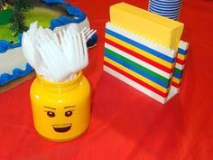 Lego napkin holder