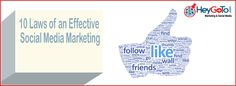 """""""10 Laws of an Effective Social Media Marketing"""""""