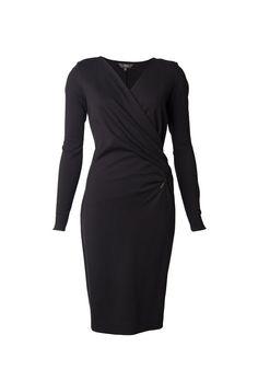 Zip Ponti Dress