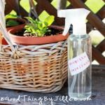 Lavender Linen Spray 40-50 drops (or approx. 1/2 tsp) lavender essential oil 1/4 cup unflavored vodka (I had isopropyl alcohol on hand so that's what I used) app...
