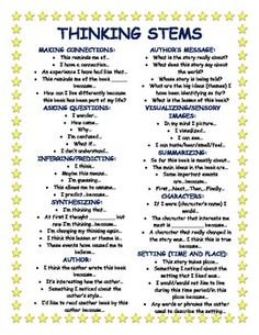 This is a list of questions students can use while reading. Questions include author's message, summarizing, characters, nonfiction prompts, etc. Comprehension Strategies, Reading Strategies, Reading Activities, Teaching Reading, Reading Comprehension, Guided Reading, Teaching Ideas, Learning, Thinking Strategies