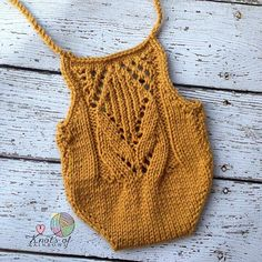 Taralynn Romper Mustard Yellow Romper Knit by KnotsofRainbows