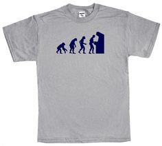 Funny T Shirt Video Game Gamer T Shirt Geek Arcade by Shirtmandude