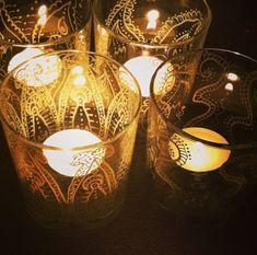 Glass lantern recycling Eye Art, Lanterns, Recycling, Table Lamp, Glass, Home Decor, Lamp Table, Decoration Home, Drinkware