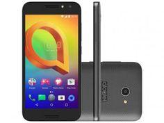"""Smartphone Alcatel A3 16GB Preto Dual Chip 4G - Câm. 8MP + Selfie 5MP Tela 5"""" Proc. Quad Core"""