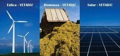 Dilma veta energias renováveis não hidráulicas no Plano Plurianual